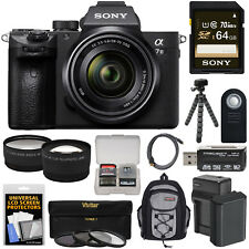 Sony Alpha A7 III 4K Digital Camera & 28-70mm FE OSS Lens + Kit