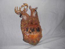 "Bradford Exchange Deer Sculpture ""Woodland Royalty"" by Greg Alexander"