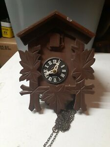 Small black forest cuckoo clock