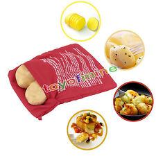 Microondas de patatas cocidas al horno bolsa de cocina de patatas rápido 4 Mins
