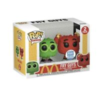 Funko Pop Ad Icons Mcdonalds Fry Kids 2pk Funko Shop Exc. Green/red 'IN HAND'