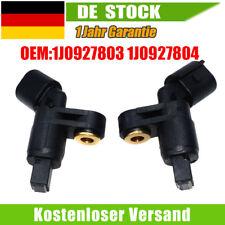 2x ABS Sensor vorne links rechts Für VW Bora Golf III IV Lupo Passat Polo Vento
