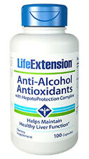 Anti-Alcohol with HepatoProtection - Life Extension - 60 Capsules