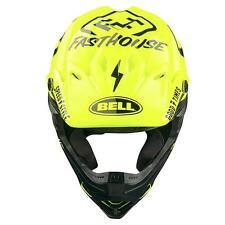 2017 Bell Moto 9  Limited Edition Fasthouse Flo Yellow XL Motocross Mx Helmet