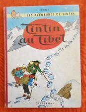 Hergé TINTIN AU TIBET. B29. Edition ORIGINALE française de 1960. voir les scans