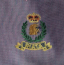 Men's Wrangler Riata Western Shirt Purple Check Size Medium 15 ½ 33/34