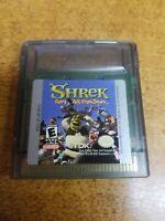 Shrek: Fairy Tale FreakDown (Nintendo Game Boy Color, 2001)(Tested)