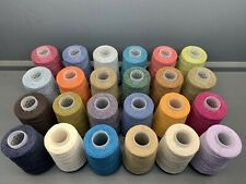 24 x 150G 2/14NM 55% LAMBSWOOL 45% COTTON YARN. Approx 3.6kg, Limited Stock