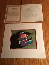 The Pink Panther Matted Production Animation Cel+2 Sketches P26 Bigfoot Shadow