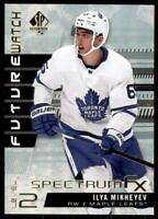 2019-20 UD SP Authentic Spectrum FX Future Watch #S-83 Ilya Mikheyev RC
