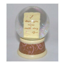 Waterglobe Love Letter Beautiful Shake Glitter RUSS Mini I Loveyou More Each Day