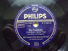 W/9/13 Schellackplatte Der Frechdachs und Eine Polka voller Schwung Sid Hamilton