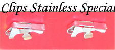Corvette  1956 1957 1958 1959  1960 1961 1962 Long Side Stainless Clips By Cowl
