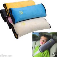 Baby Children Safety Strap Car Seat Belts Pillow Shoulder Headrest Protection