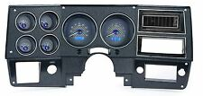 1973-87 Chevy C10 Truck Carbon Fiber & Blue Dakota Digital VHX Analog Gauge KIt