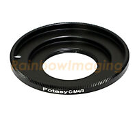 16MM Cine movie lens to MFT M4/3 adapter  Panasonic GF5 GF6 GX1 GX2 GX1 GX2 GX7