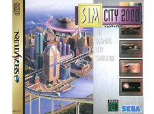 ## SEGA SATURN - Sim City 2000 (JAP / JP Import) - TOP ##