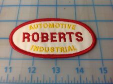 ROBERTS AUTOMOTIVE INDUSTRIAL Embroidered Patch
