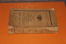 (137) Traité du billard / Vignaux