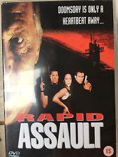 Tim Abell, Lisa Mazzetti RAPID ASSAULT ~ 1997 Action Thriller UK DVD