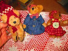 "New ListingLot Of Three 6"" Boyds Bears"
