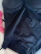 Va Bien Nero Senza Spalline Body facoltativo Cinturini RRP £ 50 Affare £ 17.99