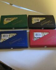 Travel Dominoes in a Case. 28 Dominoes. New.
