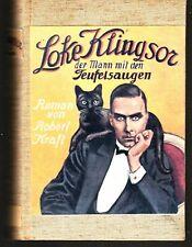 Robert Kraft, Loke Klingsor, Hefte 1-60 in 5 Bdn., komplett, Freya, 1927