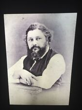 Photo Of Gustave Courbet. French Realism 35mm Art Slide