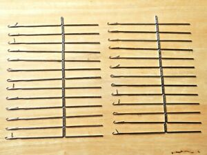 25 Knitmaster Needles- Checked, Cleaned & Oiled, Standard Knitting Machine 4.5mm