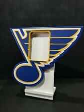 ST LOUIS BLUES ULTRA PRO ONE-TOUCH SPORTS CARD DISPLAY FRAME HOLDER