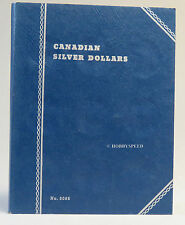 WHITMAN CANADIAN COIN BOOK CANADIAN SILVER DOLLAR NO DATES folder 9086
