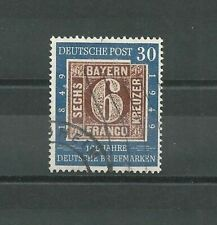 Bund Mi.nr. 115,100 Jahre deutsche Briefmarken,gestempelt