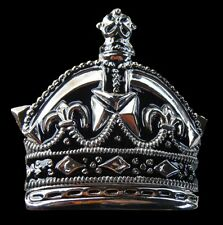 CROWN ROYAL ROYALTY PRINCE PRINCESS KING QUEEN BELT BUCKLE BOUCLE DE CEINTURE