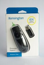 Kensington Presenter Expert Remote Wireless 2.4GHz 2GB Green Laser K72426EU USED