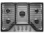 """Whirlpool WCG97US6DS 36"""" Stainless 5-Burner Gas Cooktop photo"""