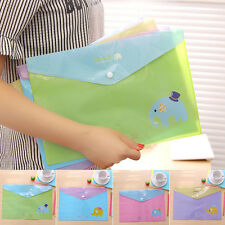 New Pockets A4 Paper File Folder Holder For Document Office School Supplies