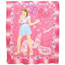 Coperta plaid Disney Violetta in soffice pile dis. Love Passion Music L780