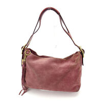 Coach Shoulder bag Purple Gold Woman Authentic Used K406