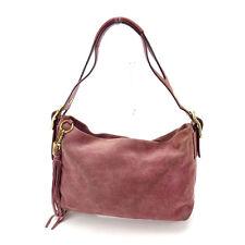 Coach Shoulder bag Purple Gold Woman Authentic Used K406