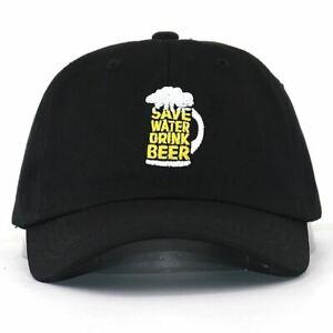 Save Water Drink Beer Baseball Cap
