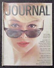 1962 June LADIES HOME JOURNAL Magazine VG- 3.5 Bette Davis / Sunglasses