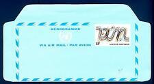 UNITED STATES - USA - AEROGRAMMA - 1977 - 22 c - Uccelli ed iniziali con i color