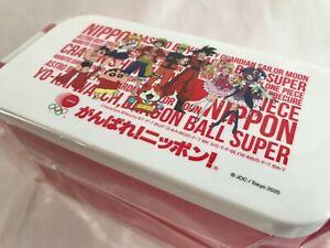Tokyo 2020 Olympics Lunch Box Anime Japan ONE Piece DRAGON BALL Sailor Moon JOC