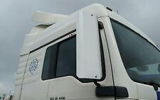 06  HGV MAN TGA TGL TGM range pair mirror covers guards WHITE