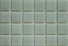 225 mat gris clair vitrifiée verre mosaïque 20mm Tuiles A05