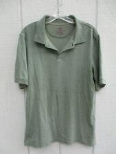 Covington Size S Short Sleeve Green Ribbed Polo Shirt