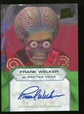 2013 Topps Mars Attack Invasion AUTO/Autograph - Frank Welker as Martian Voice