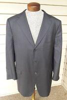 Ermenegildo Zegna SU MISURA 15 MILMIL 15 Gray Jacket Blazer Sport Coat 44