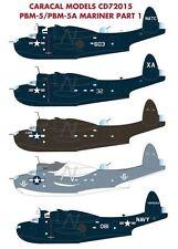 Caracal 1/72 Consolidated PBM-5 / PBM-5A Mariner Part 1 # 72015